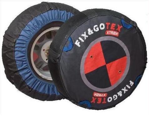 Fix&Gotex - Xtrem - Chaines Neige Textile 4X4 - Suv - Fix&Gotex Xtrem - Réf : K1 215/80/14 195/15 195/80/15 205/75/15 225/70/15 195/75/16 215/70/16 225/65/16 235/60/16 215/60/17 235/55/17 275/40/17 215/55/18 235/50/18 255/45/18 275/35/18 265/35/19 245/35/20