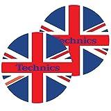 Slipmat della Factory Technics UK Slipmat, 2pezzi
