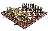 Mittelalter Schach, Gold & Chrome