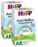 Hipp AR Bio Combiotik Anti-Reflux Anfangsmilch - von Geburt an, 2er Pack (2 x 500g)