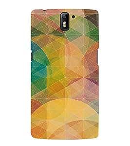 HiFi Designer Phone Back Case Cover OnePlus One :: OnePlus 1 :: One Plus One ( Colorful Pattern Design )