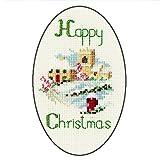Diseños de tarjetas de Navidad de la aldea Derwentwater