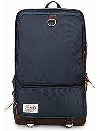 ZUMIT Laptop Backpack Business School Shoulder Daypack Water Resistant Casual Bag #801 Blue