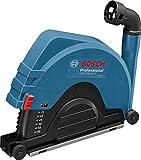 Bosch Professional 1600A003DM GDE 230 FC-T Absaughaube, 230 mm Trennscheiben-Ø, 60 mm max. Schnitttiefe, werkzeuglose Montage, 2,1 kg