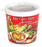 Pasta de curry rojo, 400g, importado Thailande)