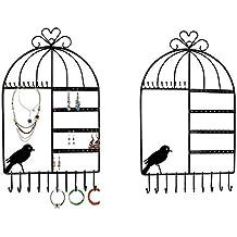 porte bijoux mural. Black Bedroom Furniture Sets. Home Design Ideas