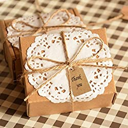 Imported Phenovo Kraft Paper Blank Card DIY Gift Tags Rectangle Label 100pcs ...-15013138MG
