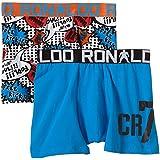 CR7 cRISTIANO rONALDO fixe pour garçon boxer trunk-line lot de 2