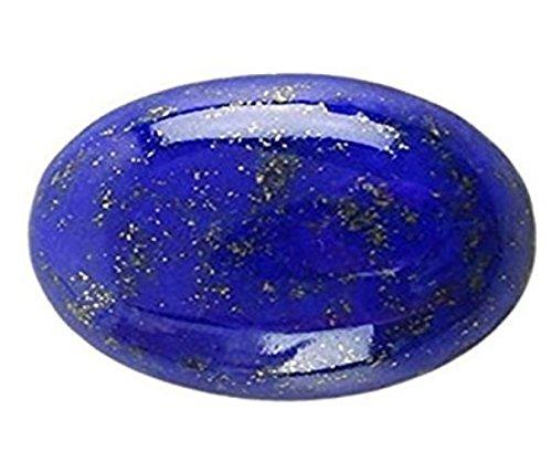 Lab Certified Real Lajward/Lapis Lazuli Gemstone 5.72 Carat by AKELVI GEMS