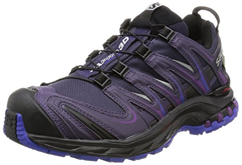 Salomon XA Pro 3D GTX - Chaussures de Trail - Shoes - Femme - Viola (Nightshade Grey BKL) - 39 1/3 (Taille Fabricant: 6)