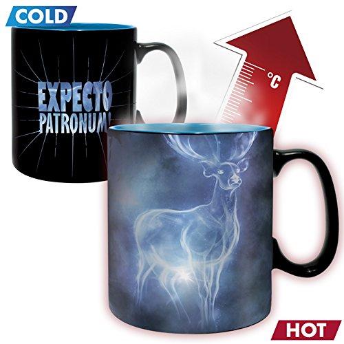 51tIsXcvCXL - ABYstyle - HARRY POTTER - taza effecto termico- 460 ml - Patronus