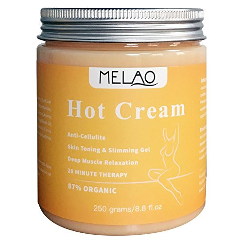 Loveinwinter Hot Cellulite Slimming Cream Massage Gel Creme Brennende Creme Massage Schließt Ihre Haut Reduzieren Sie Das Aussehen Von Cellulite 250g (Hot Massage Gel)