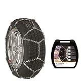Maggi Group Schneeketten E12 (Made by Thule) 9724080019 für die Reifengröße: 195/65 R15 mit eine Kettenstärke von 12 mm - Freigaben: Ö-Norm 5117, CUNA, TÜV