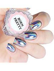 Born Pretty Poudres Holographiques Laser Effet Arc en Ciel Nail Art Pigment Chrome #0.5g
