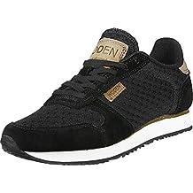 Woden Ydun II SEQ, Zapatillas para Mujer, Negro (Black), 37 EU
