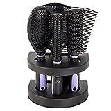 Best Women Hair Brushes - Windyeu 5pcs hair comb set Pro Detangle Hair Review