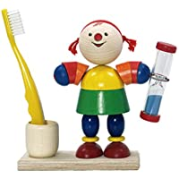 Hess Wooden Toddler Toy Lucie Tooth Brush Holder with Timer