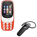 Twogood Multifunction A3310 Dual Sim Mobile With, Camera And FM Support With Multifunction K1 Bluetooth Headset With
