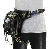 Multifunktionale Damen Schulter Diagonal Cross-Chain-Paket Punk Taschen Handytasche Retro