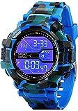 #3: Blue Diamond Army Blue Attractive Digital Sports Watch for Men's & Boys.