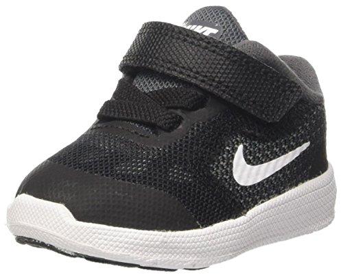 Nike Baby Jungen Revolution 3 Lauflernschuhe, Grau (Dark Grey/white/black/pure Platinum), EU 19 (US 4C)