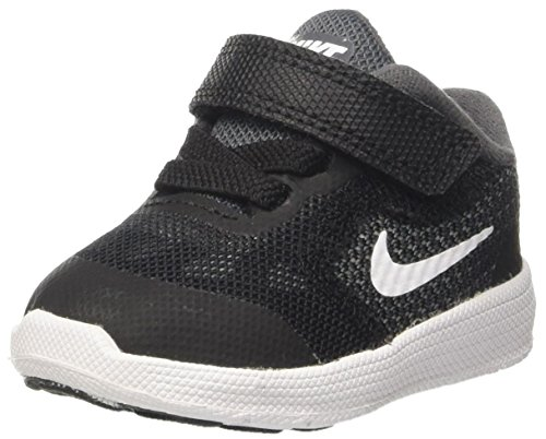 Nike Jungen Revolution 3 Tdv Lauflernschuhe, Grau (Dark Grey/White/Black/Pure Platinum), 25 EU