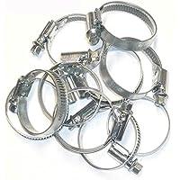 OC-PRO - Lote de 10 abrazaderas de cable de tubos flexibles, tipo Serflex 25x40mm
