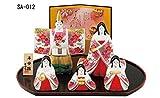 Traditionelle japanische Puppen 'hina-ningyo' Produkt Keine. sa-012