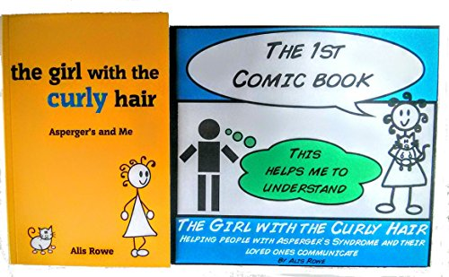 The Girl with the Curly Hair - Asperger's and Me and The 1st Comic Book (Bundle Pack / 2 Books)