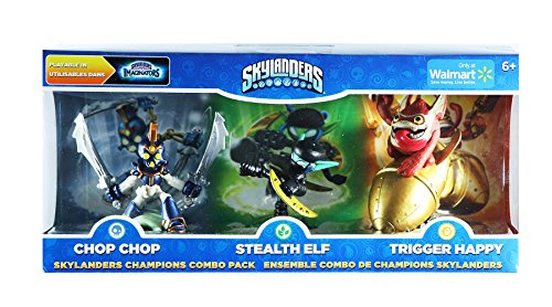 Activision Skylanders Imaginators Champions Combo Pack (Chop Chop, Stealth Elf, and Trigger Happy)