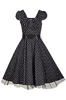 Rockabilly kleid Vintage petticoat kleid cocktailkleid abendkleid Gr.38 40 42 44 46
