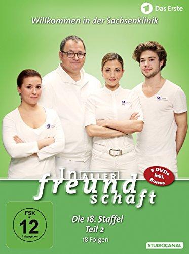 In aller Freundschaft - Die 18. Staffel, Teil 2, 18 Folgen [5 DVDs]