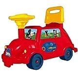 Disney Mickey Mouse Kleinkind Rutscher Auto-fahrzeug Auto Buggy Kinder Kleinkind Vorantreiben Spielzeug Weihnachtsgeschenk