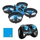 JJRC Mini Drohne H36 Mini Quadcopter Drone Spielzeug Geschenk für Kinder Anfänger-Blau