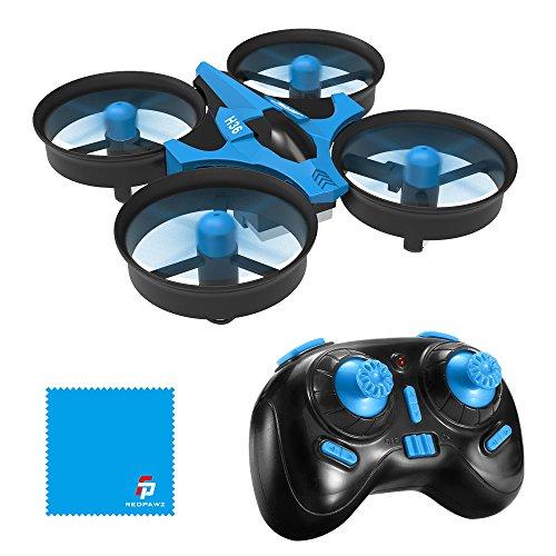 REDPAWZ H36 Mini Drone Quadcopter 2.4G 4CH 6 Assi modalità Headless Telecomando Nano Quadcopter RTF Mode 2, Blu Adatto per Principianti, Buon Regalo per Bambini
