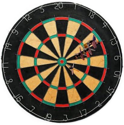 Régulation de la Triple dehors tournoi de fléchettes Cible de 6 fléchettes avec 6 de fléchettes à pointe en acier B009OFW11I 33d46f