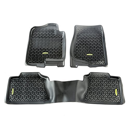 outland-398298901-black-front-and-rear-floor-liner-kit-for-select-chevrolet-avalanche-silverado-subu