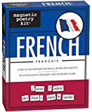 Magnetic peotry kit - 3050 - over 500 magnetized words and word fragments - french/francais