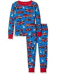 Hatley Long Sleeve Printed Pyjama Set, Conjuntos de Pijama para Niños