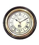 Ageless Azyra Wooden Wall Clock With Bra...