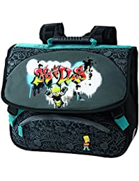 Cartable 38cm - Simpsons - 2 compartiments