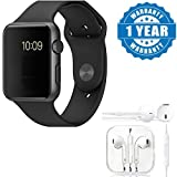 #7: Captcha A1 Sport Bluetooth Smart Watch With Camera SIM+TF Card Slot With Stereo Earpod With 3.5Mm Jack and Mic Suitable with all Android or Iphone Devices (1 Year Warranty, Color May Vary)