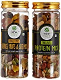 #7: New Tree Trail Bites Protein Mix and Berries, Fruits and Seed Mix, 340g (Pack of 2)