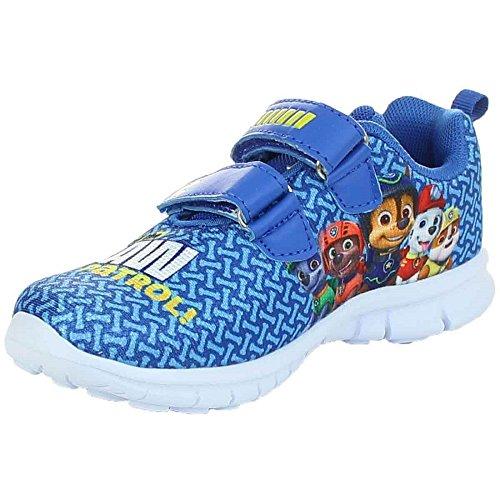 PAW PATROL Jungen Sneaker Schuhe Halbschuh Klettverschluss blau Gr.25-32 (29, Blau)