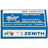 Zenith - Punti universali Zenith - Punti metallici 130/E (6/4) - 130/E (conf.10000) - codice 130/E