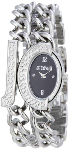 Just Cavalli R7253193525 - Reloj de Mujer de Cuarzo, Correa de Acero Inoxidable Color Plata