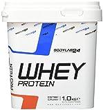 Bodylab24 Whey Protein Eiweißpulver, Geschmack: Himbeer-Joghurt, hochwertiges Proteinpulver, Low Carb Eiweiß-Shake für Muskelaufbau und Fitness, 1000g