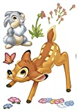 Bambi - Disney Decosticker Aufkleber 50x70cm - 17-teilig. Beigelegt ist eine Klebeanleitung.