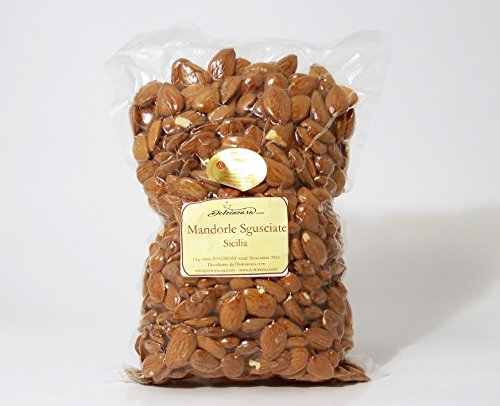 Mandorle Sgusciate Sicilia Made in Italy Calibrate 1a scelta 1 kg