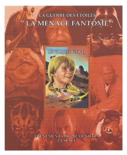 mler - Star Wars imperforate Stempel Tabelle mit Petrowitsch Anikin Skywalker/Niger ()